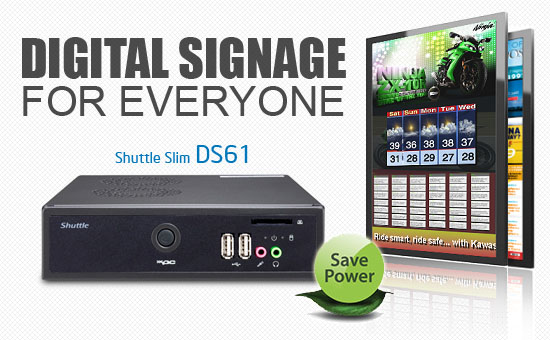 Shuttle Slim DS61